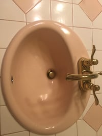 Kohler sink and delta faucet CARSONCITY