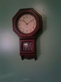 brown wooden wall mounted clock Philadelphia, 19132