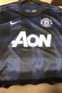Manchester United away jersey size medium authentic