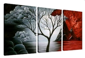 New Wall Art Canvas Oil Painting Home Decor