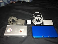 Blue Nintendo 3DS with charger and Nintendo lite w charger Montréal, H1E 2G2