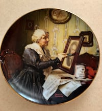 NORMAN ROCKWELL GOLDEN MOMENTS COLLECTION-GRANDMA'S LOVE-1988 PLATE Ashburn, 20147