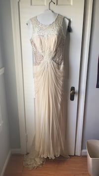 Anthropology Grecian style wedding gown Arlington, 22204
