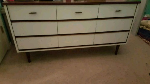 Used Mid Century Dresser And Side Table For Sale In Collinsville Letgo
