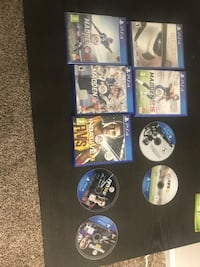 assorted Sony PS4 game cases Los Angeles, 90031