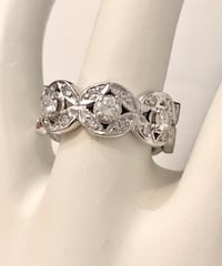 14k White Gold Ladies Custom Crafted Diamond Ring Band *Appraised at $3,100 / Stunning ! Vaughan, L4J 0H6