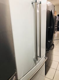 white side by side refrigerator Wyckoff, 07481