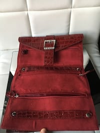 red crocodile skin leather wallet Port Coquitlam, V3B 7N9