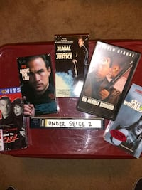 Steven Segal VHS Movie Collection