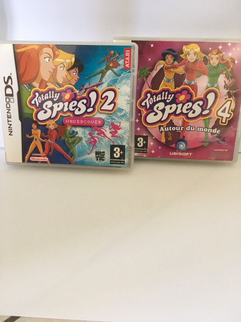 Jeux Nintendo DS Totally Spies 2 et 4