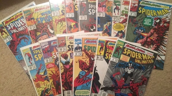 Used Entire Maximum Carnage Storyline For Sale In Pearl River Letgo