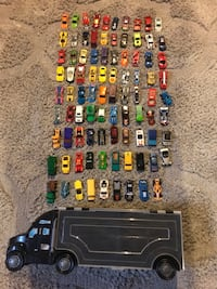 Mixed Toy Cars and Carrier (89+1) Whitchurch-Stouffville, L4A 1X3