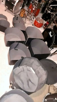 Hard shell drum cases