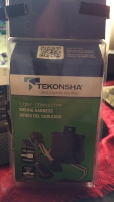 Used, Tekonsha T-One Connector Wiring Harness Box for sale  Riverside, RI