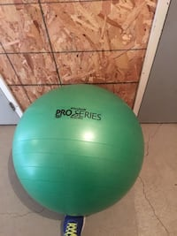 green Pro Series stability ball