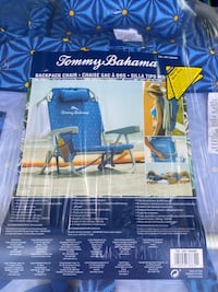 Tommy Bahama Beach Chairs and Umbrellas