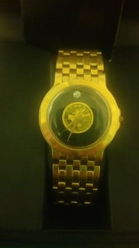 Movado custom made with gold coin and diamond  Toronto, M6A
