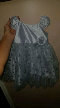 Silver Holiday Dress for 12 months with tags Toronto, M6N 2K5