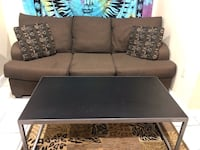 80-Inch Brown Couch Somerville, 02143
