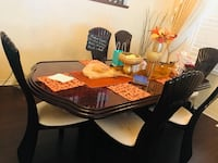 Dinning table with 6 chairs Toronto