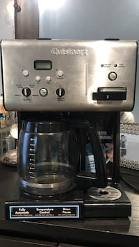 Cuisinart coffee maker in great condition. Haven't used it for over a year, just need it gone. Chantilly, 20152