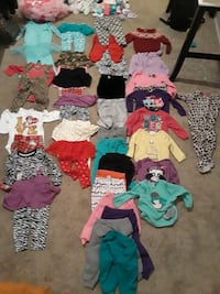 12-18 baby girl clothing lot 31 km