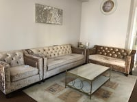 Gray/Taupe sofa and coffee table set Vaughan, L4H 0Y4