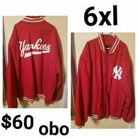 red and white New York Yankees letterman jacket photo collage Dayton, 45406