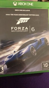 Forza Motorsport 6 Xbox One game case Monmouth Junction, 08852
