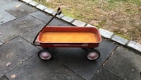 Red wagon radio flyer original) made well in 1950's Olney, 20832