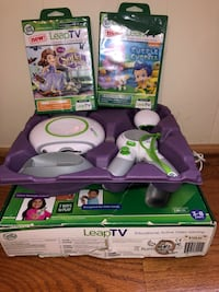 Leap frog leap T V educational active video gaming 3-8 years  Baltimore, 21206