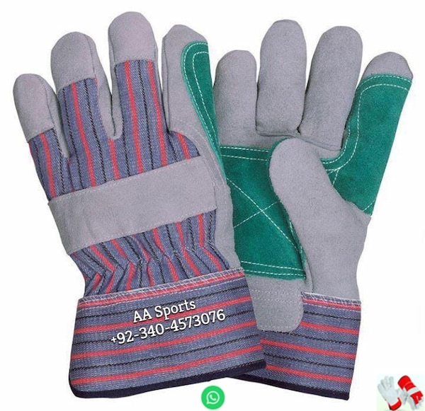 Double palm Leather Gloves, No1 gloves, gym, safe hand, winter, working
