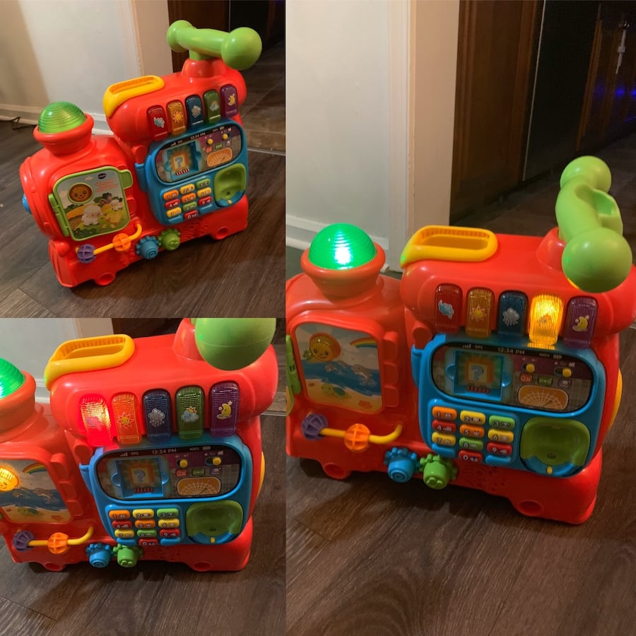 Educational Train and Riding Toys