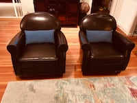 Great chairs with visible wear