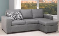 SECTIONAL SOFA COUCH WITH CHAISE BAMBINO. Toronto, M6N 3G1