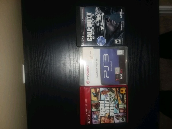 Play Station 3, controler, gta5, call of duty ghos 2