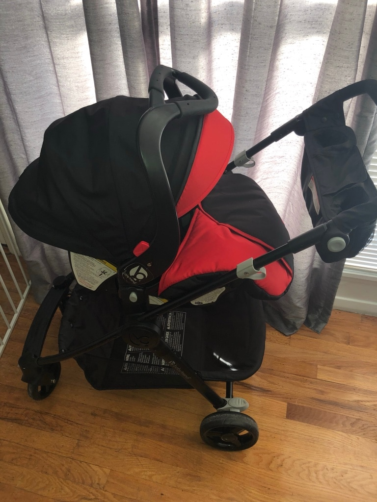 Photo Infant Car Seat and Stroller