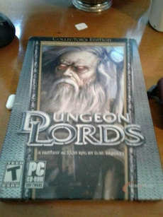 Dungeon Lords PC game case