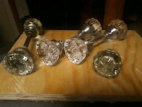 4 pairs glass Door Knobs  Sugar Land, 77498