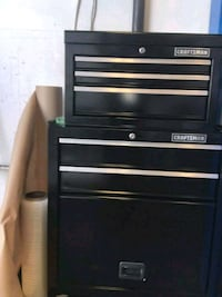 black and gray Craftsman tool cabinet West Covina, 91791