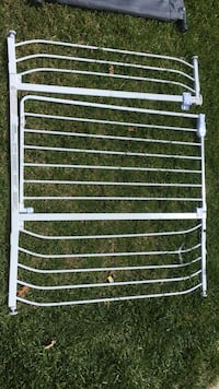 white safety fence