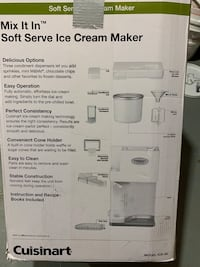 Ice cream maker Brampton, L6T 3A6