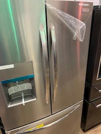 Gallery Stainless steel refrigerator!! Frigidaire No credit needed!! Only 53$ down gets you delivered!! #799 Cape Coral, 33909