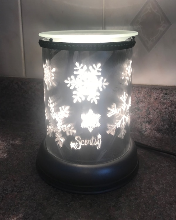 scentsy silver frost warmer
