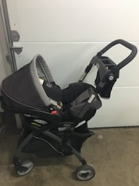 Graco Snugride 35 car seat and click connect stroller HERNDON