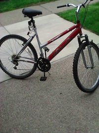 red and black hardtail mountain bike Rochester, 14617