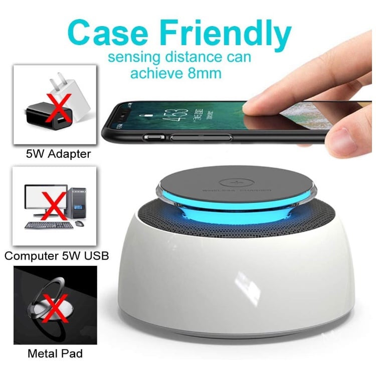 Fast Wireless charger and speaker