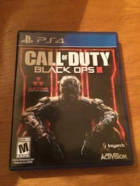 Call of Duty Black OPs 3 PS4 CD game