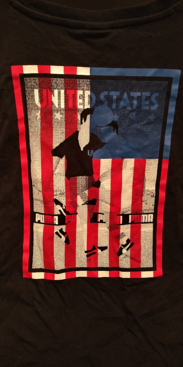 PUMA: US soccer men large shirt  0