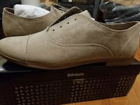 pair of gray leather slip-on shoes Brampton, L6R 3B9
